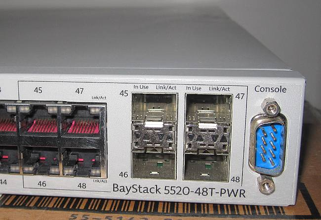 PCI Device BCM5695 B0 Attached As Unit 2 3 4