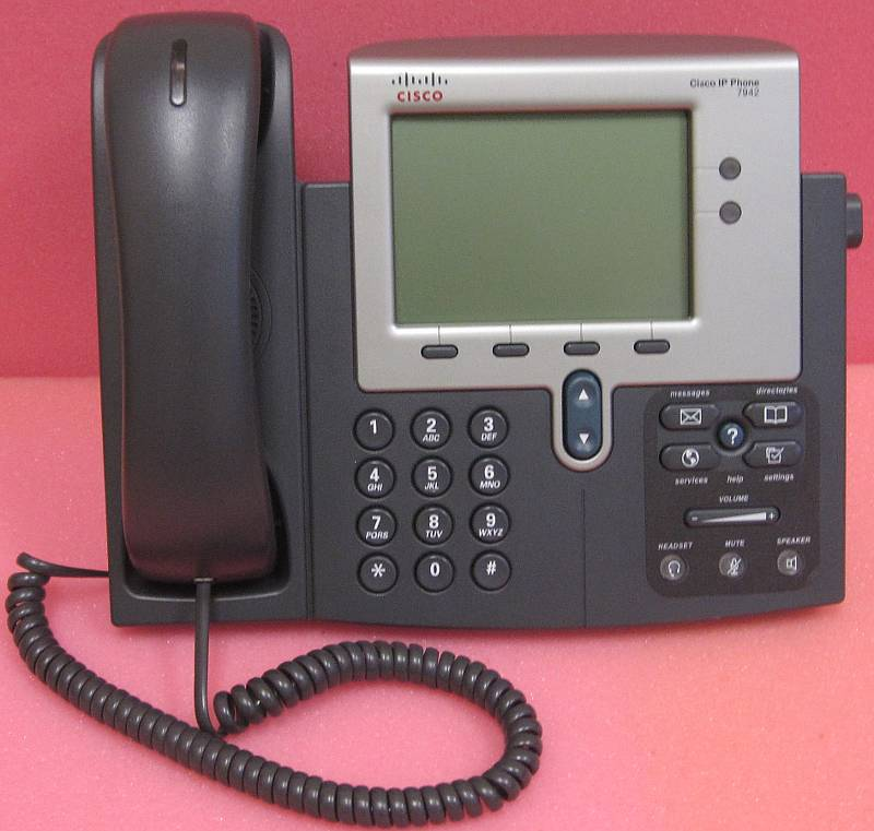 Details about Cisco CP-7942G 7942 IP Phone SCCP Firmware 75xAvailable