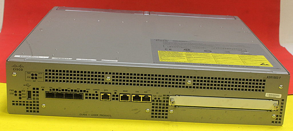 Details about Cisco ASR1002-F with Dual power Supplies ASR1002-PWR-AC