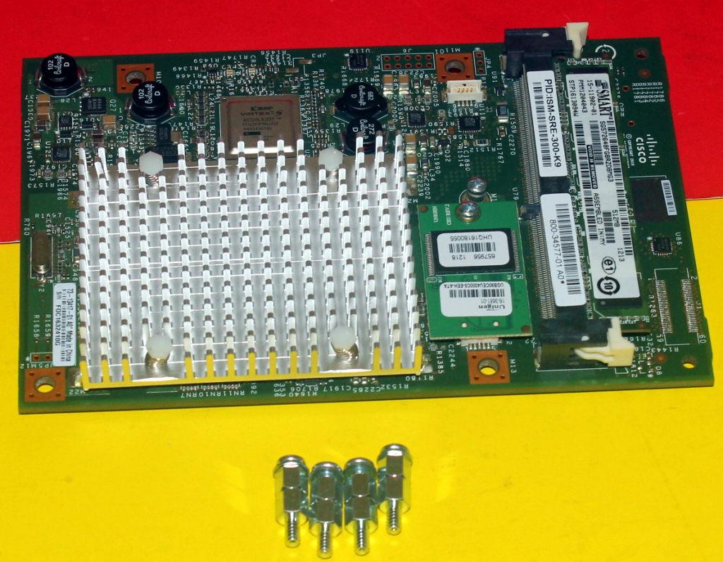 4GB flash Cisco ISM-SRE-300-K9 300 Internal Service Module ISM SRE 512MB DRAM