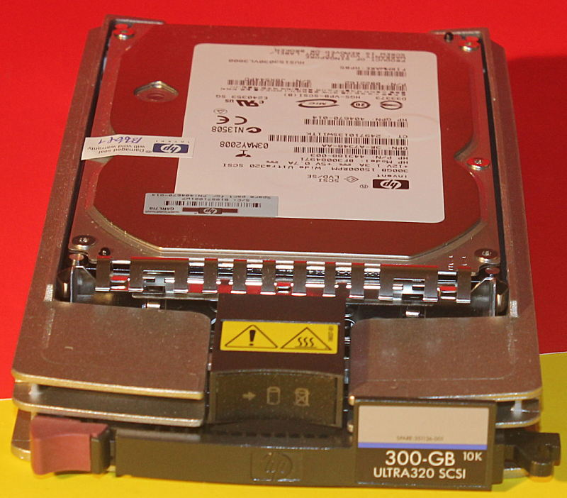 HP 404670-014 300GB 15K U320 SCSI Hard Drive