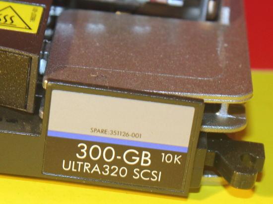 411089-B22//411261-001//404670-014//443188-003//481659-003-HP 300GB 15K U320 SCSI DR