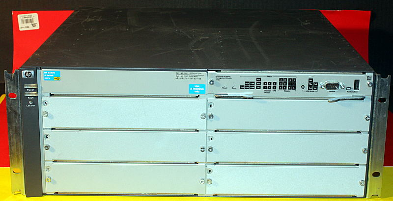 Details about HP ProCurve 5406ZL J8697A Chassis With Premium 16 01 Software  License 2xAvail