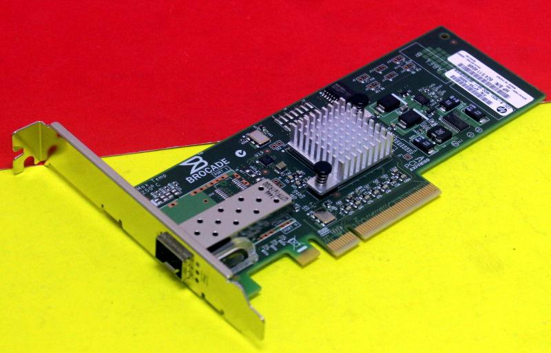 571520-002 AP769B AP769-60002 HP 81B PCIE 8GB FC SINGLE PORT HOST BUS ADAPTER