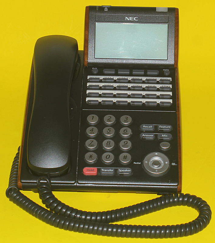 Nec dt300 Phone system Manual