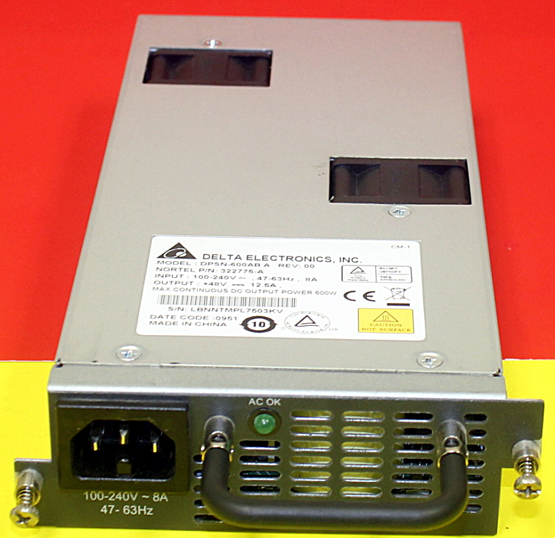 Details about Avaya/NORTEL Networks AL1905E02-E5 600W POWER SUPPLY TESTED  WARRANTY 5xAvailable