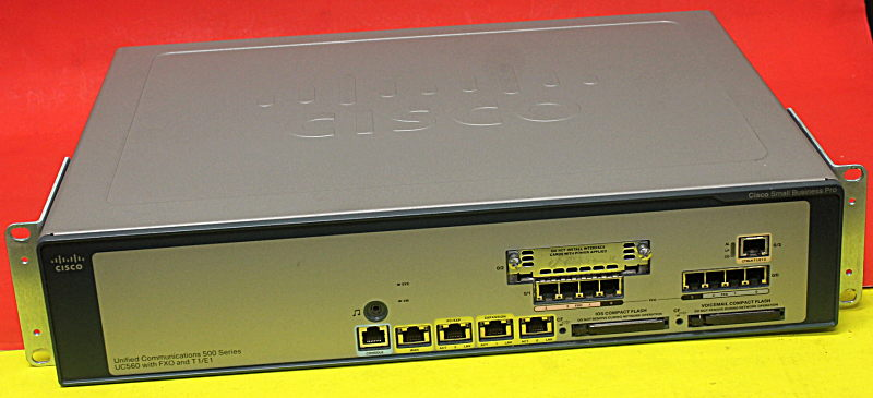 Details about Cisco UC560-T1E1-K9 56 User Unified Communication Device
