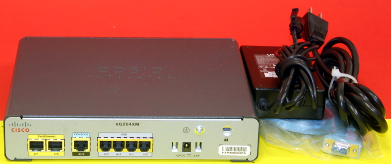 Details about Cisco VG204XM Voice Gateway Router with Power Supply WARRANTY  3xAvailable